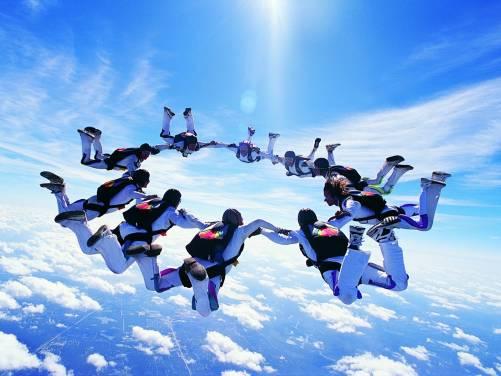 Первый прыжок с парашютом или Семь раз отмерь