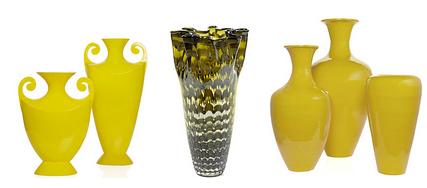 Лимонные вазы