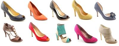 летние туфли на высоком каблуке