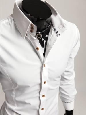 070e3bd57d66f48 Мужские рубашки с высоким воротником – как обыграть приевшийся стиль ...