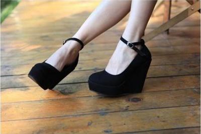 Красивые Туфли На Танкетке Фото