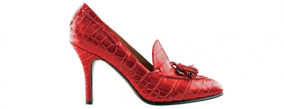 Крокодиловые туфли