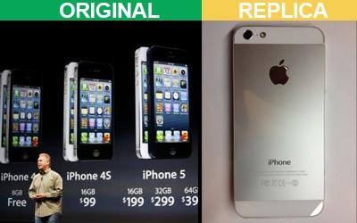 iPhone и его реплика