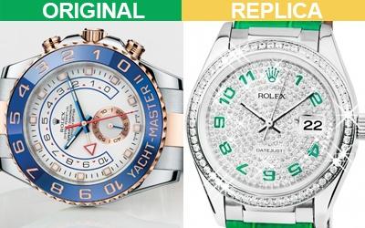 Rolex - оригинал и реплика