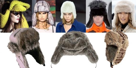 Модные шапки 2013