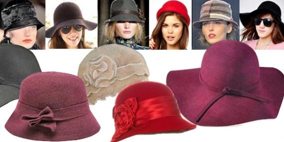 Модные шапки 2013 в стиле ретро