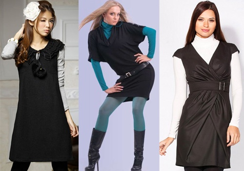 becab1871b0 Теплые женские платья – будь красивой в любое время года - Shoptema.ru
