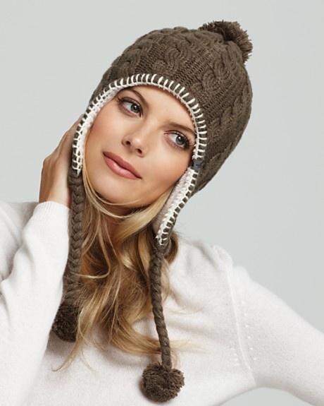 шапка с длинными ушами самый модный головной убор текущего сезона