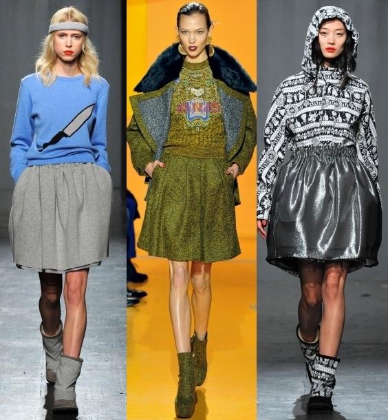 женские зимние юбки из драпа: