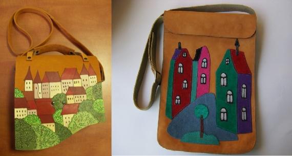 Необычные сумки своими руками фото