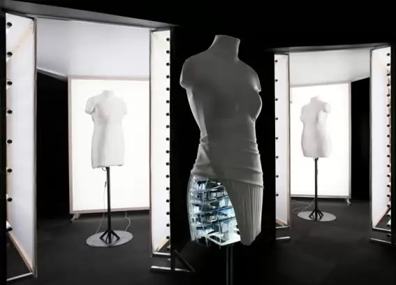 Прогрессирующие технологии настоящего: 3D примерочные технология