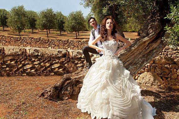 Купить платья с буфом можно на Amazon или Aliexpress, где цены на свадебные платья довольно демократичные