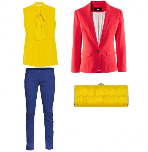 Разноцветная весна 2014: правильные цветовые сочетание мода