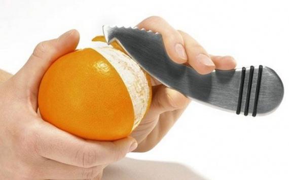 чистка для апельсина
