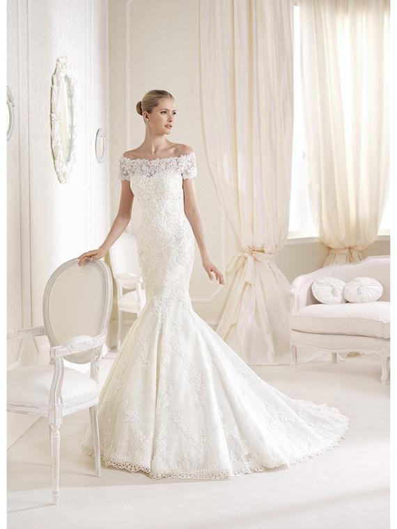 Свадебные платья 2014 не пышные