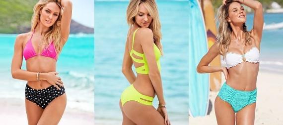 45583804a7f04 Модные купальники 2014: яркая коллекция от Victoria's Secret ...