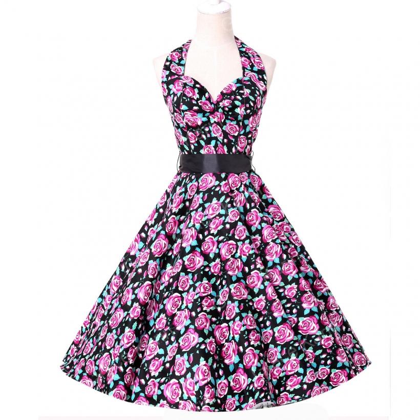 Фото летних платьев с пышной юбкой