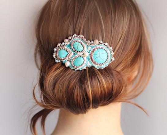 Заколки для волос красивые