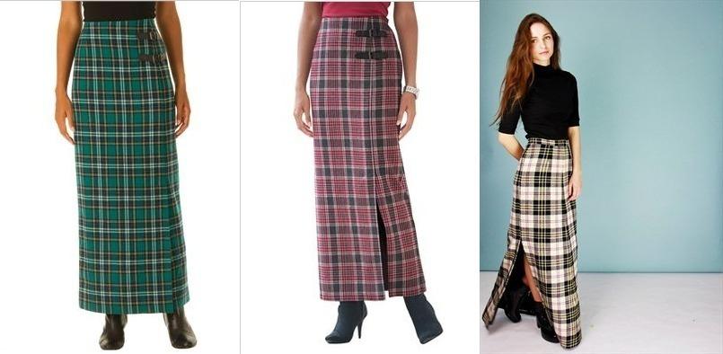 теплые юбки осень зима обзор самых модных моделей сезона Shoptemaru