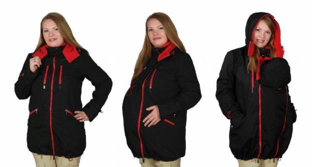 Слинговставка в куртку для беременных 57