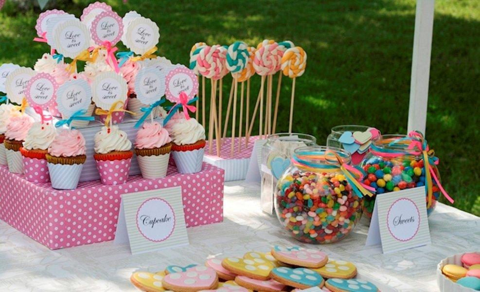 Как организовать семейный праздник и не забыть обо всех тонкостях candy bar