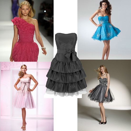 Как сшить короткое пышное красивое платье