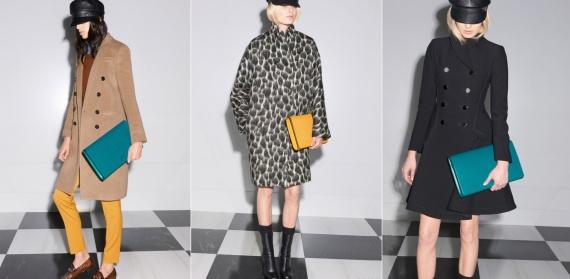 Модное зимнее пальто 2014: будьте ярче! Европа