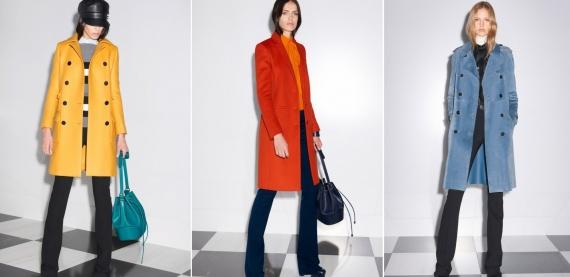 Модное зимнее пальто 2014: будьте ярче! США