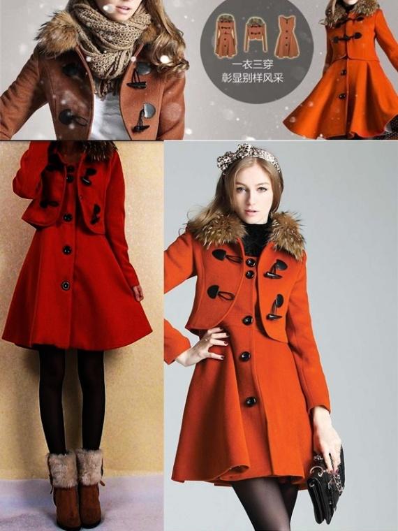 Красивые платья и пальто