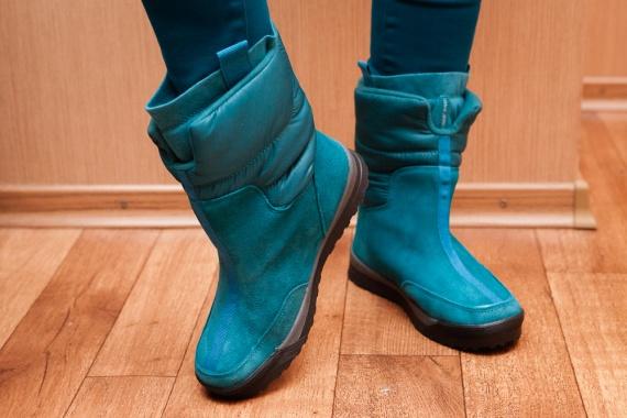 Зимние женские сапожки дутики Women's Commuter Pull-on Boot с сайта Lands'end зимние сапоги