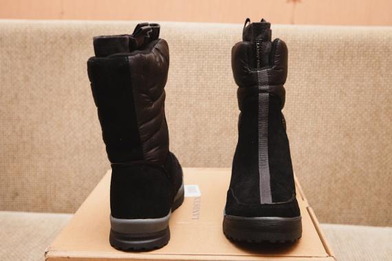 Зимние женские сапожки дутики Women's Commuter Pull-on Boot с сайта Lands'end женские сапоги