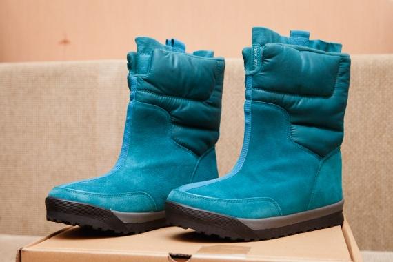 Зимние женские сапожки дутики Women's Commuter Pull-on Boot с сайта Lands'end Lands'end