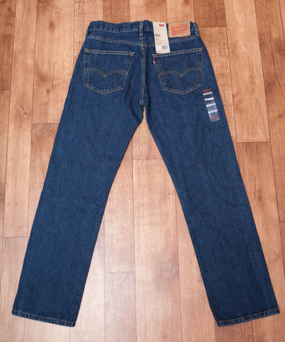 Джинсы Levi's 505. Как отличить оригинал от подделки Jeans