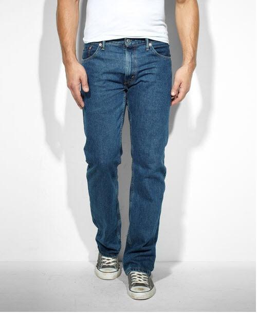 Джинсы Levi's 505. Как отличить оригинал от подделки Levi's 505 Regular Fit Jeans Dark Stonewash Blue