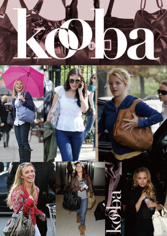Серия моих обзоров о кожаных сумках. Обзор №1 бренд KOOBA ч. 1 кожа