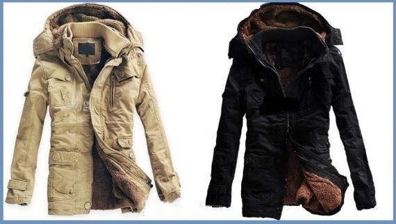 Меховые кожаные зимние куртки