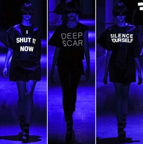 Надписи на одежде тренд