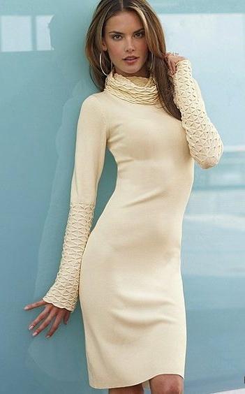 Moda international - зимние платья от Victoria's secret США