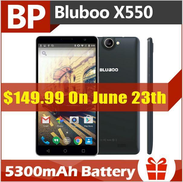 Скидка 20$ на смартфон Bluboo X550 скидка