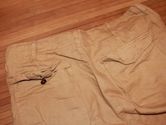 Готовимся к лету льняные брюки