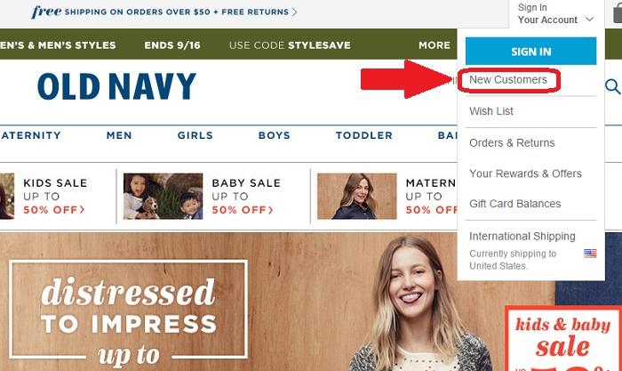 Old Navy: обзор интернет-магазина одежда для всей семьи