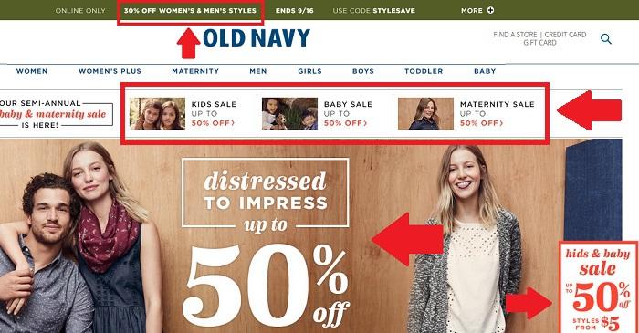 Old Navy: обзор интернет-магазина oldnavy.gap.com
