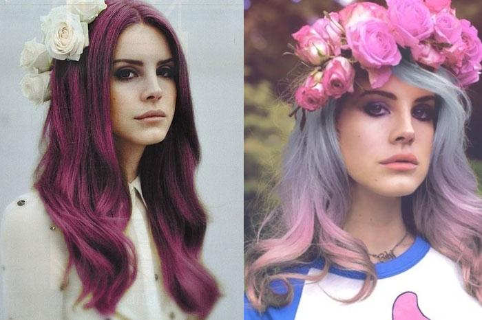 Цветная покраска волос