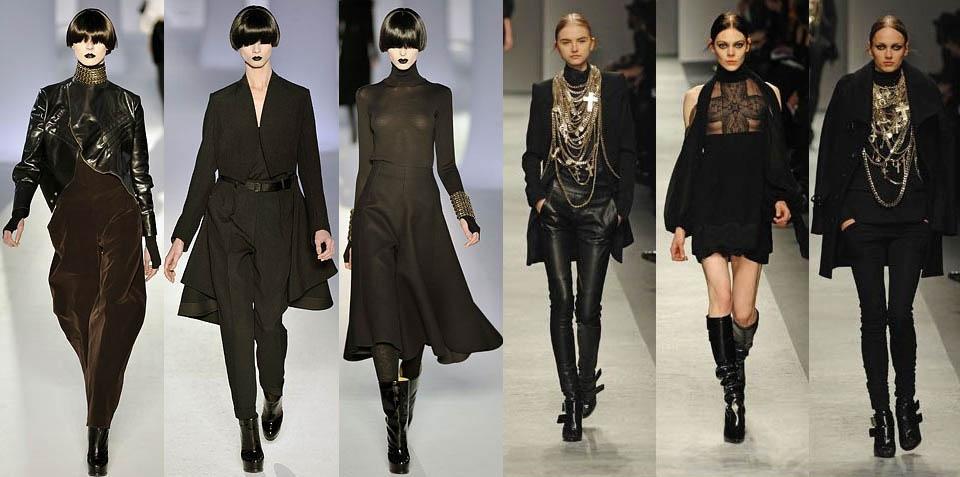 Готический стиль в одежде Gothic-style