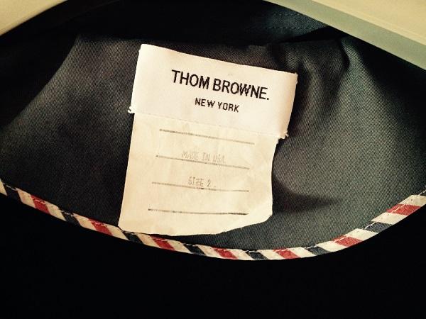 Плащ-макинтош от Thom Browne Плащ-макинтош от Thom Browne