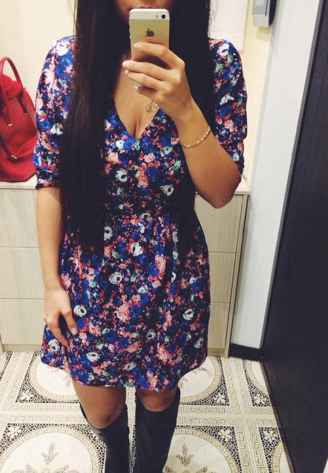 Одежда: Вот и платье приехало...