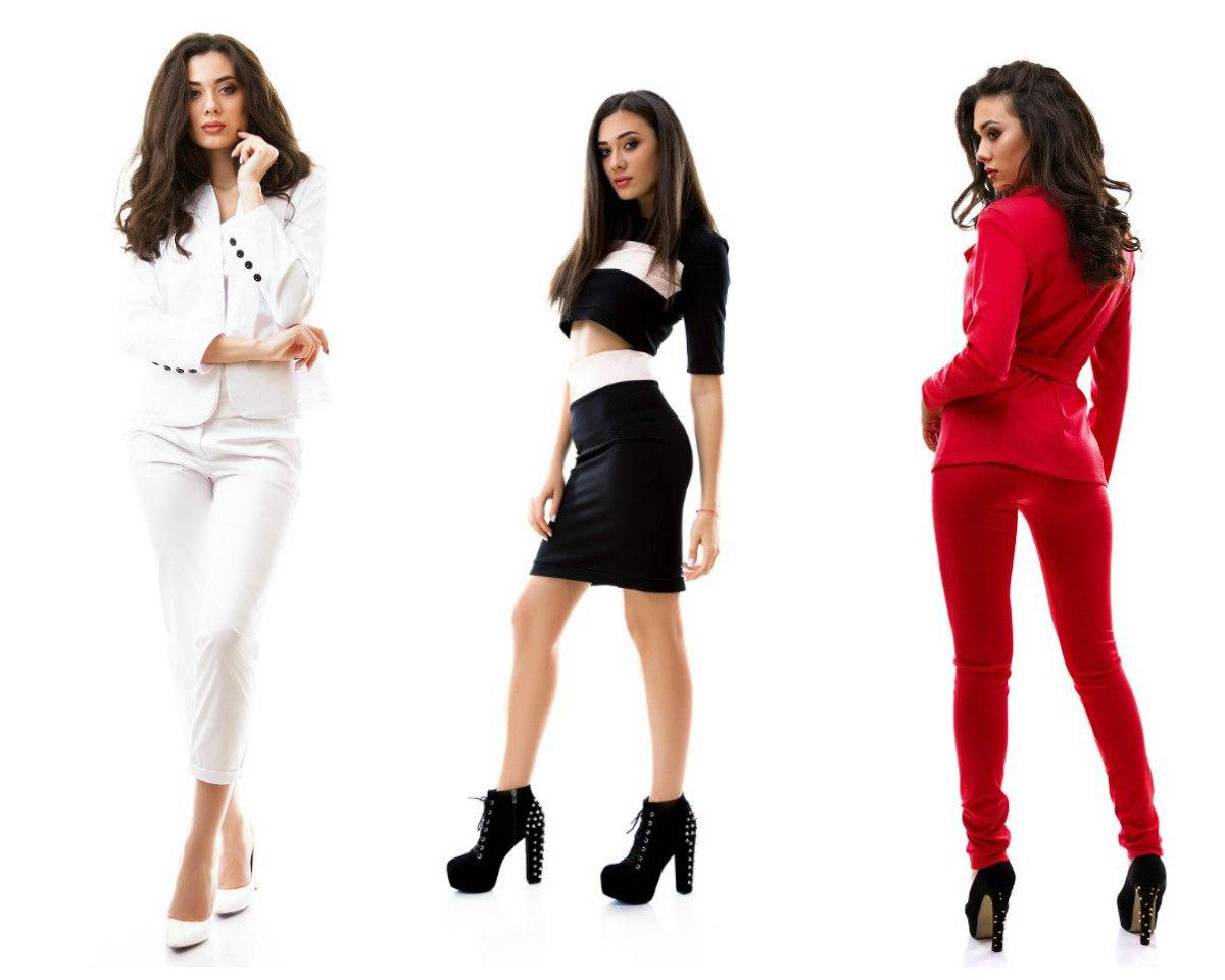 Создaть модную одежду