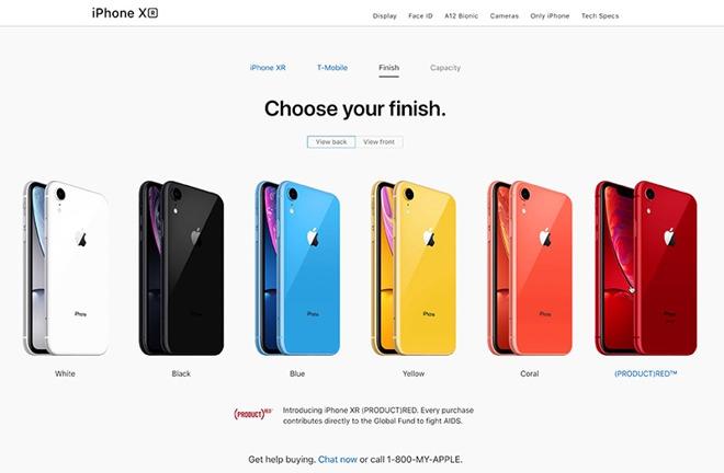 цветовые решения XR