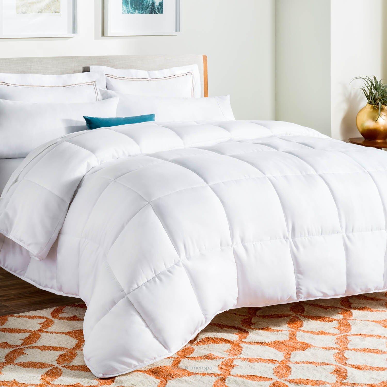 гипоаллергенное одеяло Linenspa на amazon