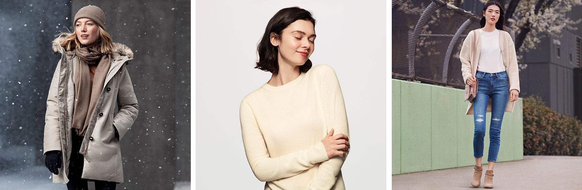 сайт дешевой женской одежды Uniqlo